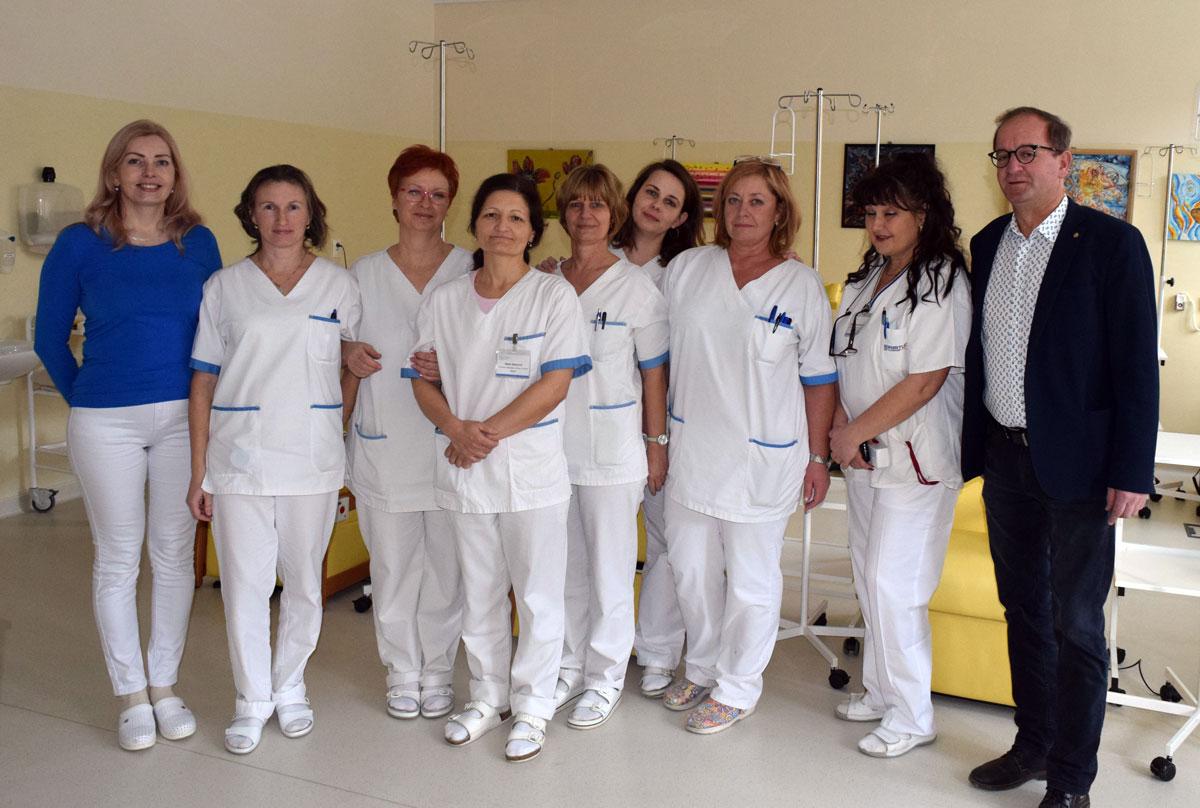 Oddelenie rádioterapie a klinickej onkológie